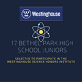 17 Juniors Selected For Westinghouse Science Honors Institute image