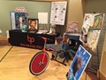 The BPHS display at the STEAM Showcase