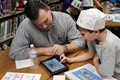 Lincoln students and parents work together on the Scratch Jr program