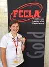 Kelly Katilius Earns Gold Medal At National FCCLA Competition image