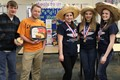 The FCCLA Gold Medalists with their winning hummus recipe