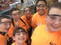 Hydraulics Challenge students