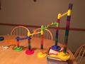 A Rube Goldberg contraption