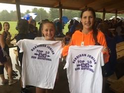 Girls CC Team Medalists at the Harrison Invitational