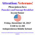 Veterans Breakfast logo