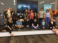 Students at Disability Mentoring Day