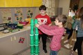 Fourth graders participate in holiday-themed STEAM activities