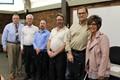 Bill Keith, Steve Miller, Ryan May, Thomas Sanders, John Cramer and Donna Cook