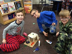 Making A Pet Rock Fun House