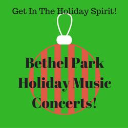 holiday music concert logo