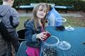 Students had fun making their terrariums