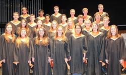 District Chorus students