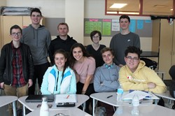 Students in the Big Data/Analytics Class at BPHS