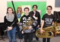 Five Students Selected For Junior High District Band image
