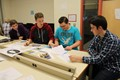 BPHS CIM students work on their projects