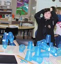 Students learn even when they make mistakes on their weekly STEAM Challenge