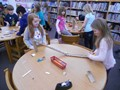 Memorial students participate in the January STEAM Challenge