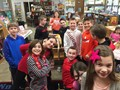 Washington students enjoy the Literature-based STEAM Project