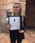 Junior Inducted Into National Technical Honor Society image