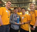 Award winners at the Fluid Power Challenge