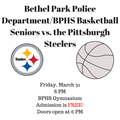 Steelers Basketball Game Scheduled For March 31 image
