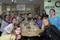 NAMS students with their STEAM Challenge project