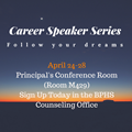 Career Speaker Series Information
