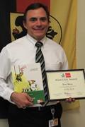 German Teacher Wins Award From AATG image