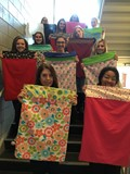 BPHS Students Make Pillowcases For Pittsburgh Cancer Center