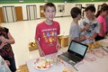 Students turn ordinary objects into instruments with Makey Makeys