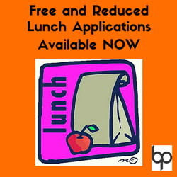 Free and Reduced Lunch Form Graphic