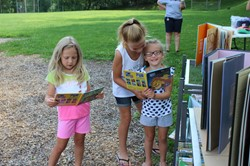 Elementary Pop Up Library