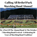Calling All BP Marching Band Alumni! image