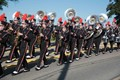 The Marching Band in the Community Day Parade