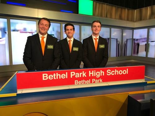 The BPHS Hometown Hi-Q Team