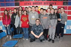Team 7C Students with Robert Dittrich