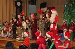 Lincoln Christmas Play characters