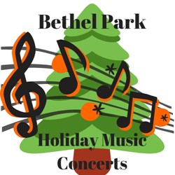 Holiday concert logo