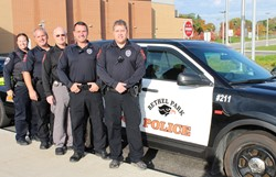 School Resource Officer and four School Police Officers