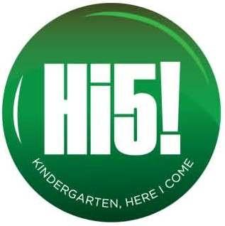 Kindergarten Hi 5 Logo