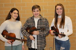 BPHS Junior HIgh District Orchestra musicians