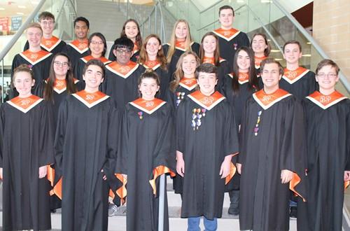 BPHS Region Chorus students