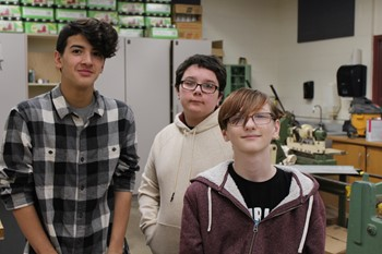 The students who are working on this project