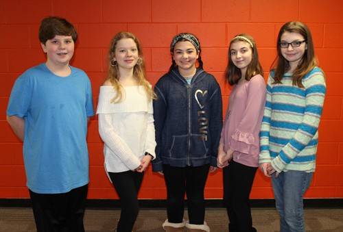 NAMS Elementary Sing Fest Vocalists