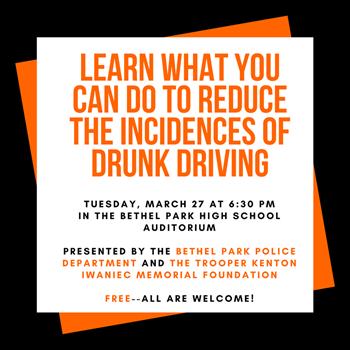Drunk Driving program logo
