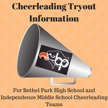 Cheerleading Tryout logo