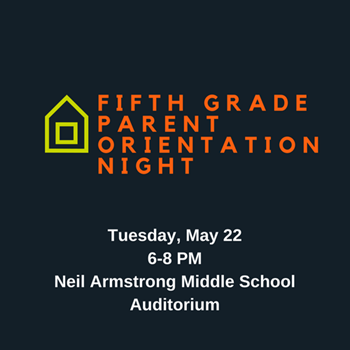 NAMS Fifth Grade Parent Orientation logo
