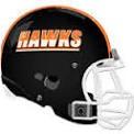 BP football helmet
