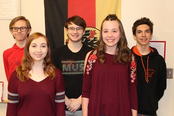 BPHS German Day Award Winning Students