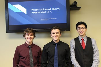 BPHS Students with their presentations for EAFab
